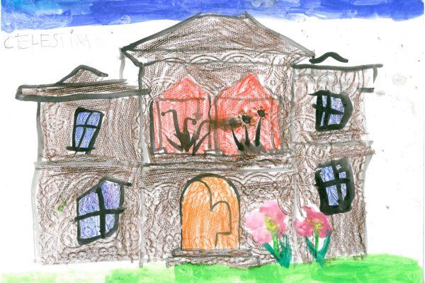 Casa Golescu, vazuta de Celestina, 6 ani