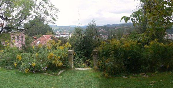 Panorama jardin Golescu 2