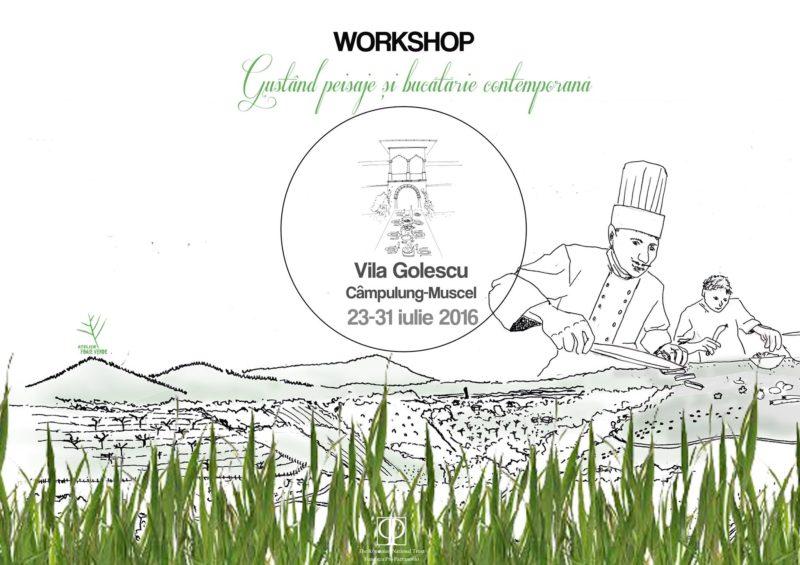 Atelier de peisaj culinar 2016