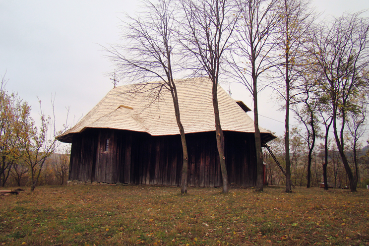 Church in Cervicești, Botoșani County