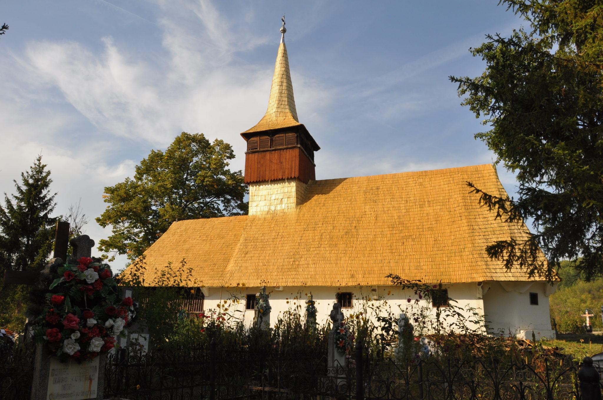 Church in Boz, Hunedoara County (1791)
