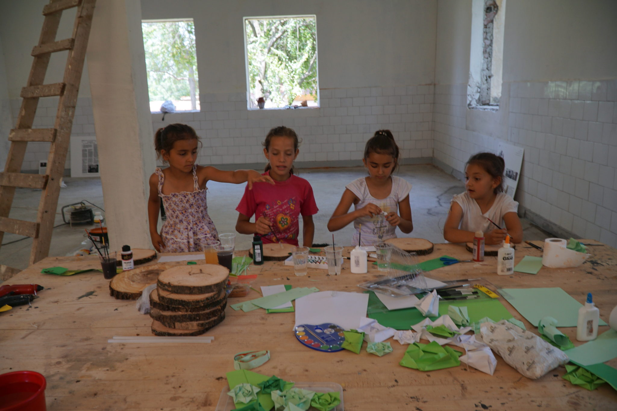 Workshops for children at Izvoru, 2017