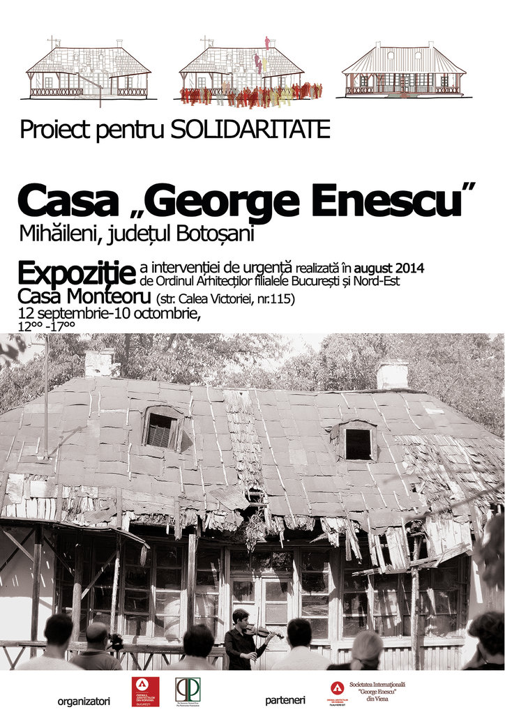 Project for Solidarity, Enescu House in Mihăileni at Monteoru House in Bucharest 2014