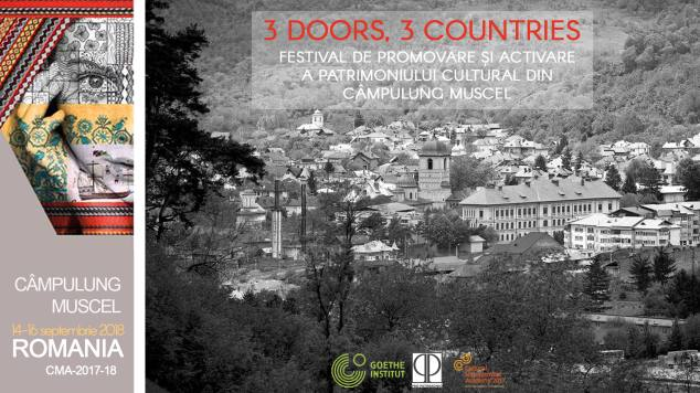 """3 Doors, 3 Countries"", 14-16 septembrie 2018, Câmpulung Muscel"