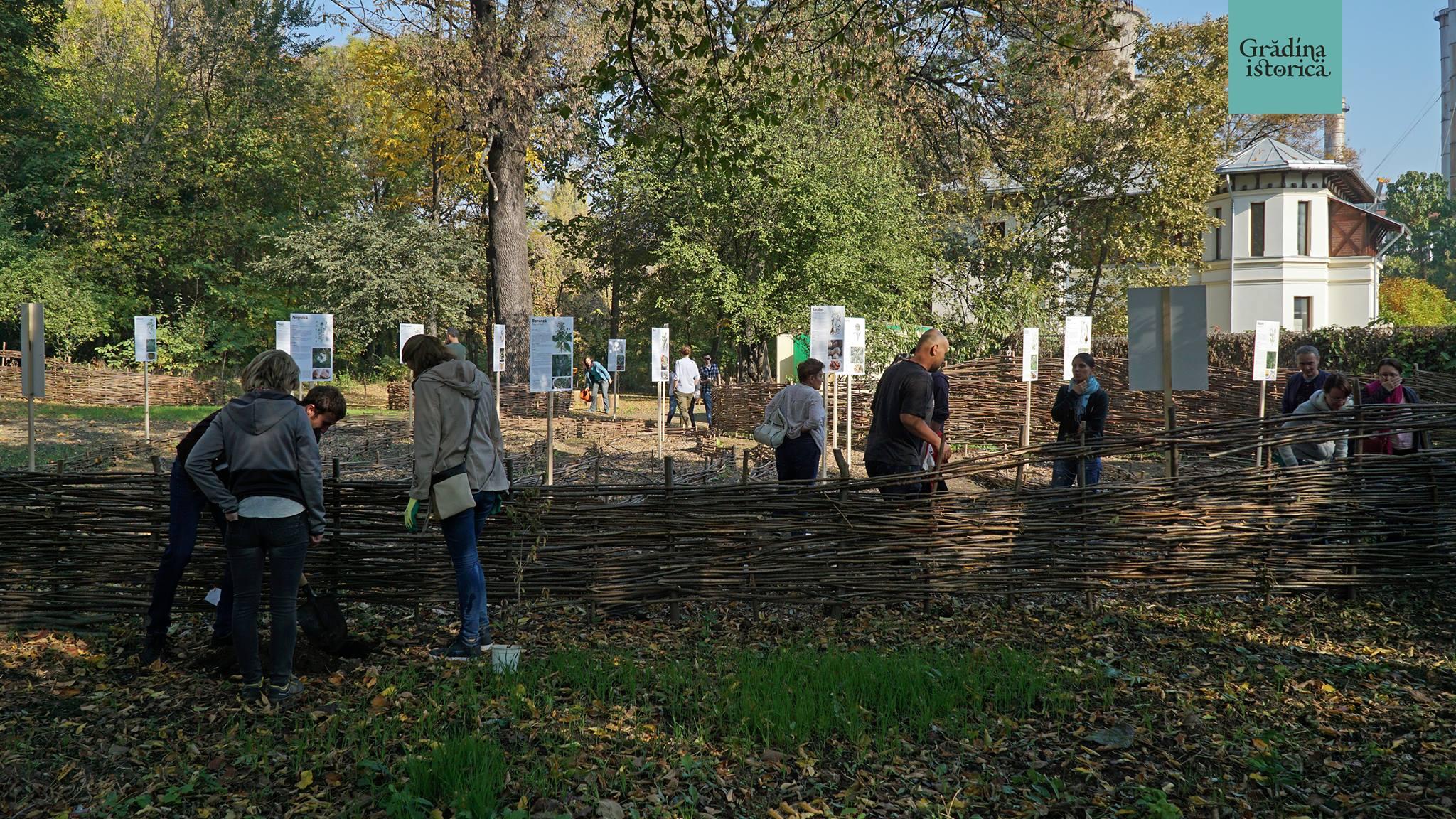Proiect – Grădina istorică