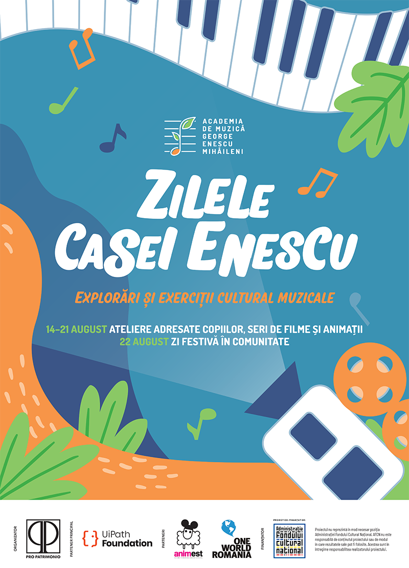 EventFull Days al Casa Enescu – Cultural-Musical Explorations and Exercises