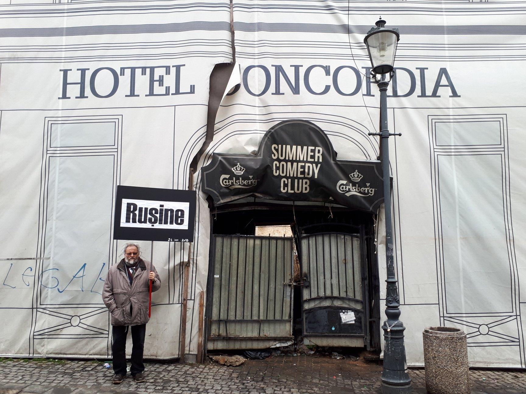 Hotel Concordia. Nicio schimbare.