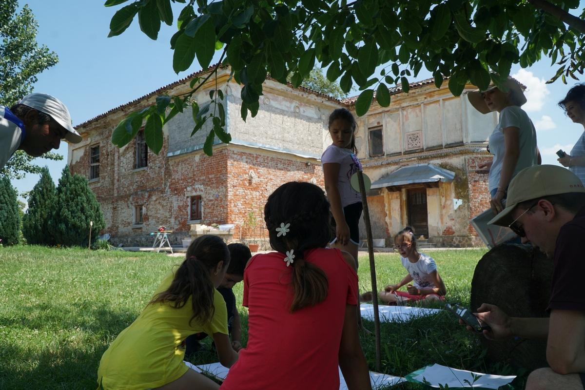 Un nou atelier de educaţie pentru patrimoniu la Conacul Neamţu din Olari